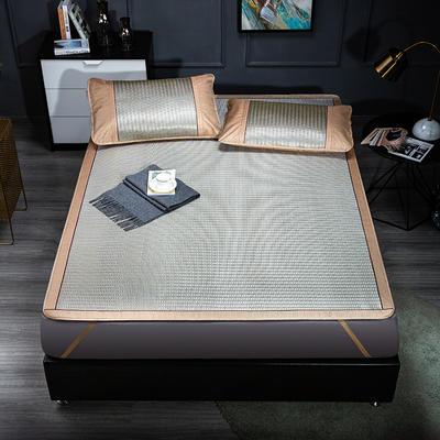 2019新品-养生冰藤席 可折叠席子1.5、1.8m 1.5m(5英尺)床 雅致