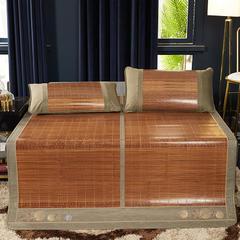 2019新品-竹藤双面席 天然竹席可折叠 1.5m(5英尺)床 皇家风情单席子