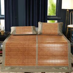2019新品-竹藤双面席 天然竹席可折叠 1.5m(5英尺)床 丝绸之路单席子