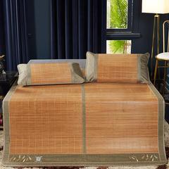 2019新品-竹藤双面席 天然竹席可折叠 1.5m(5英尺)床 夏日印象