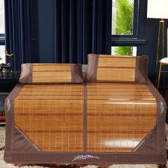 2019新品-竹藤双面席 天然竹席可折叠 1.5m(5英尺)床 薰衣草