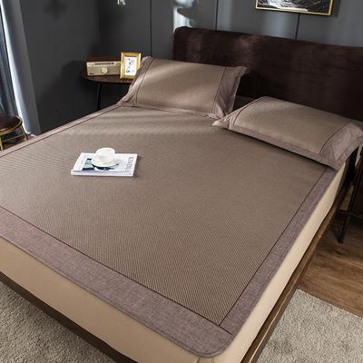 2020新品清居冰藤席 软藤凉席绑带、床笠席子 1.5m三件套 床笠款:爱丁堡