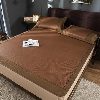 2020新品清居冰藤席 软藤凉席绑带、床笠席子 1.5m三件套 床笠款:墨尔本