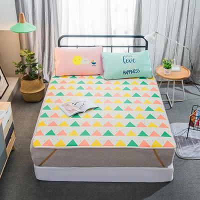 大版印花冰丝席 卡通数码印花凉席 1.5m(5英尺)床 时尚色彩