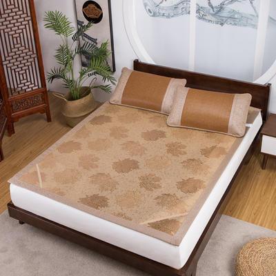 品牌同款古藤席 高端藤凉席 1.8m(6英尺)床 双面  饼干花