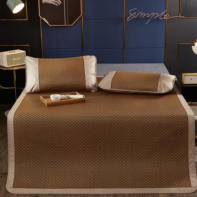 品牌同款古藤席 高端藤凉席 1.5m(5英尺)床 双包芯 小方格