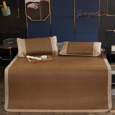 品牌同款古藤席 高端藤凉席 1.5m(5英尺)床 双包芯  长城格