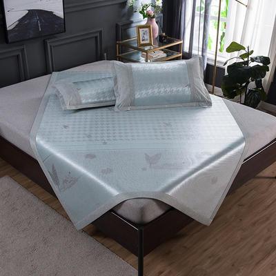 2020 新品 800D生态冰丝凉席 夏季空调席子 1.5m(5英尺)床 格瑞丝