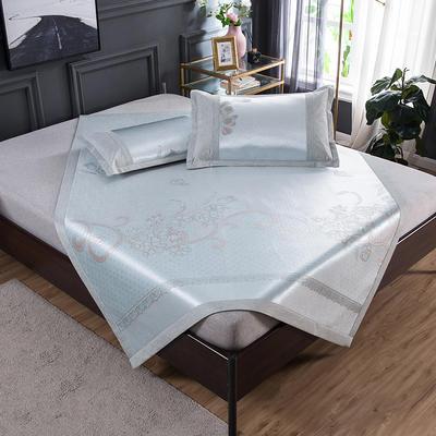 2020 新品 800D生态冰丝凉席 夏季空调席子 1.5m(5英尺)床 北欧之恋