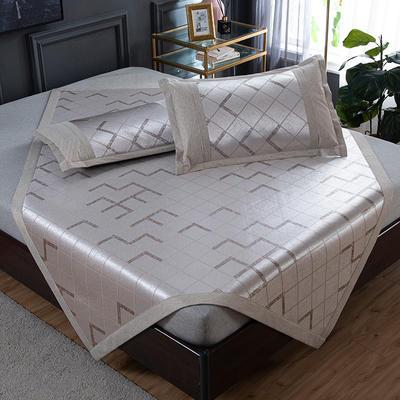 2020 新品 800D生态冰丝凉席 夏季空调席子 1.5m(5英尺)床 别样年华