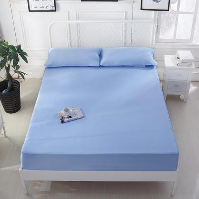 2020 新品冰凉纱凉席 空调软席 1.2m(4英尺)床 床笠款 深蓝