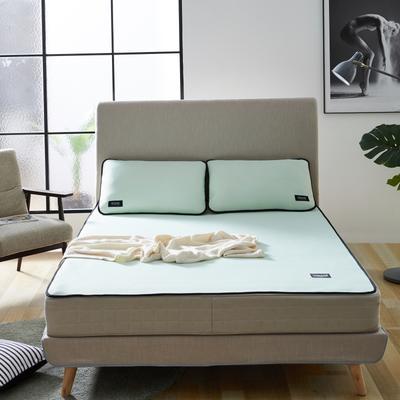 2020 新品冰凉纱凉席 空调软席 1.2m(4英尺)床 条席款 绿