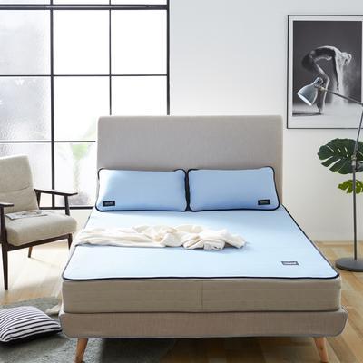 2020 新品冰凉纱凉席 空调软席 1.2m(4英尺)床 条席款  深蓝