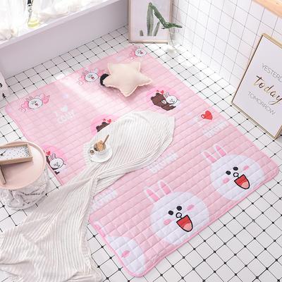 2020全棉防滑可水洗床褥(地垫)-可定制 1.2*2.0 初恋