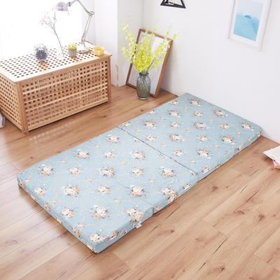 2020厚度8cm折床垫 90*190cm 古典蓝