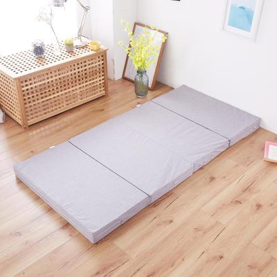2020厚度8cm折床垫 90*190cm 灰色