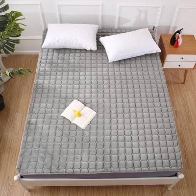 2020法莱绒床褥(地垫)-可定制 1.2*2.0m 灰色轨迹