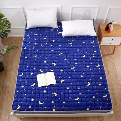 2020法莱绒床褥(地垫)-可定制 1.2*2.0m 梦幻星空