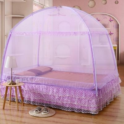 2020新款蒙古包蚊帐 120*200 紫色