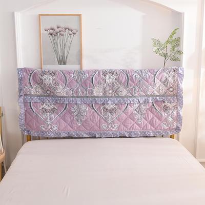 2020新款夹棉床头罩 150*110夹棉床头罩 凡尔赛
