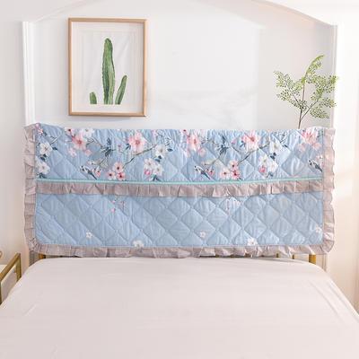 2020新款夹棉床头罩 150*110夹棉床头罩 红袖添香