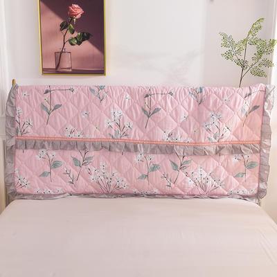 2020新款夹棉床头罩 150*110夹棉床头罩 锦绣花期
