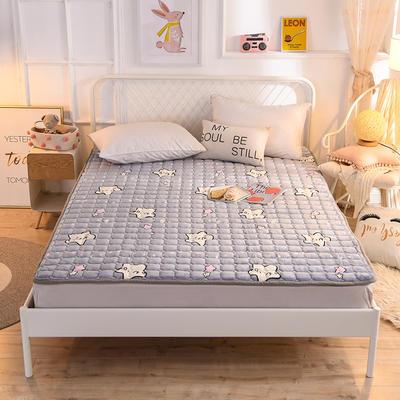 2020法莱绒防滑可水洗床褥 1.2*2.0米 海星宝宝