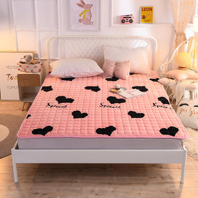 2020法莱绒防滑可水洗床褥 1.2*2.0米 温馨