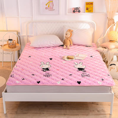 2020新款宝宝绒床褥 90*200cm 兔兔