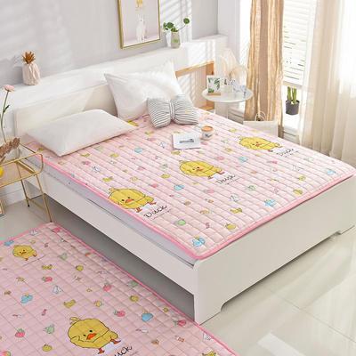 2020全棉防滑可水洗床褥(地垫)-可定制 1.2*2.0 小黄鸭