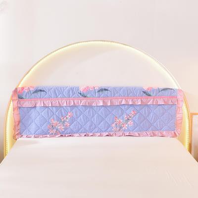 2020新款全棉夹棉床头罩 120*110 花香弥漫
