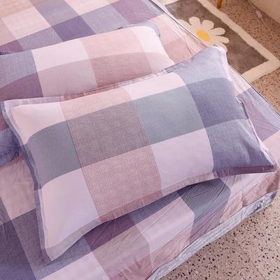 2020新款全棉信封枕套 48cmX74cm 一对 艾维丝