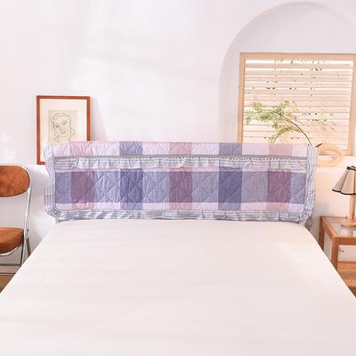 2020新款全棉夹棉床头罩 120*110 艾维丝