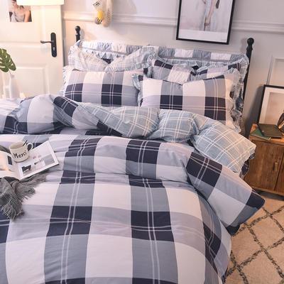 2020新款全棉四件套床单款 1.5m床单款四件套 爱很简单