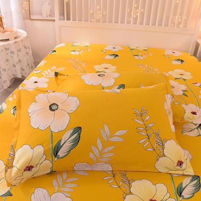 2020新款全棉信封枕套 48cmX74cm 一对 春之暖阳