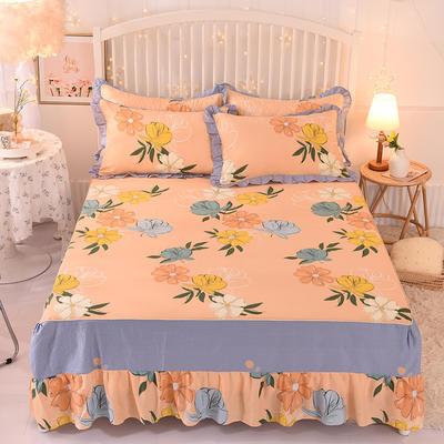 2020新款全棉单床裙 150cmx200cm 彩色梦境
