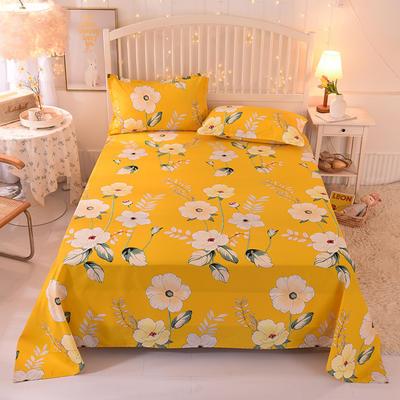 2020新款全棉单床单 230cmx245cm 春之暖阳