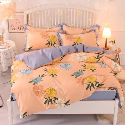 2020新款全棉四件套床单款 1.5m床单款四件套 彩色梦境