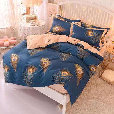 2020新款全棉四件套床单款 1.5m床单款四件套 梦丝羽