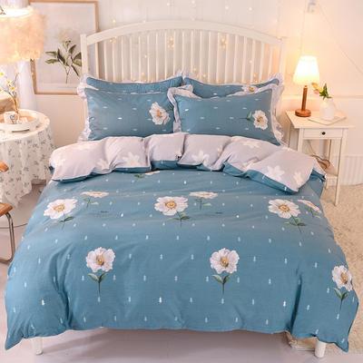 2020新款全棉四件套床单款 1.5m床单款四件套 诗意花期