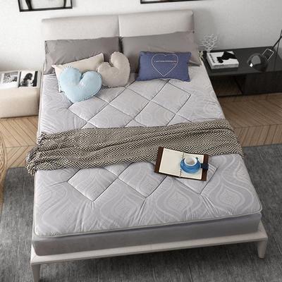 加厚耐压水晶超柔绒压花防静电床垫 90X200cm 灰色