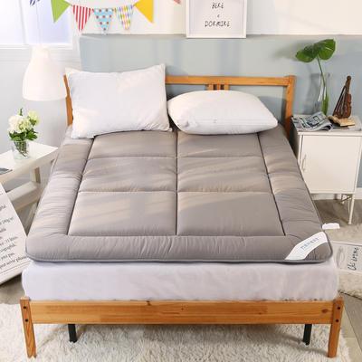 双面全棉竹炭床垫 1.5*2米 灰色