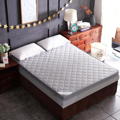透气网格竹炭纤维加厚立体床垫 0.9*2米床 灰色