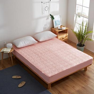 纯色水洗棉绗绣夹棉床笠 150cmx200cm 玉色