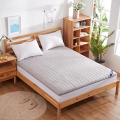 绗绣加厚耐压榻榻米床垫 90X200cm 灰色