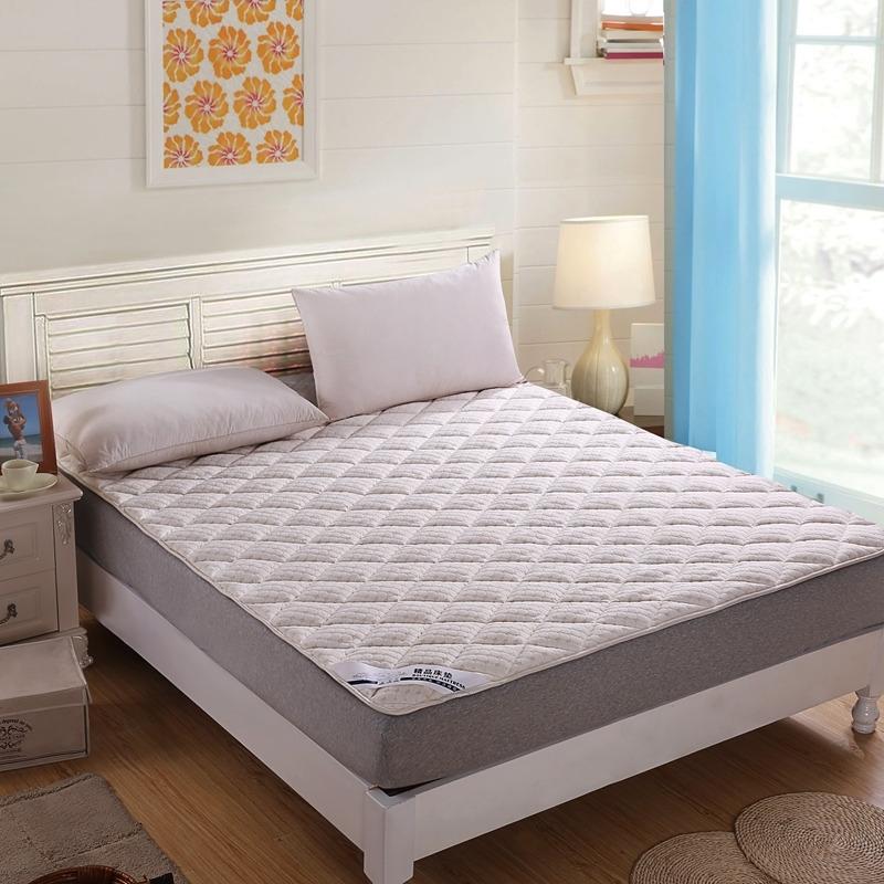 水立方凹凸针织布绗绣软床垫