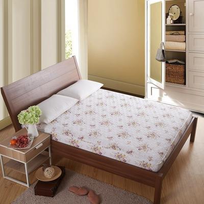360度全棉绗绣床笠床垫罩席梦思保护套 150x200cm 典雅花魁