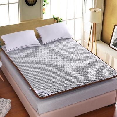 4D透气耐压加宽包边床垫 180X200cm 灰白