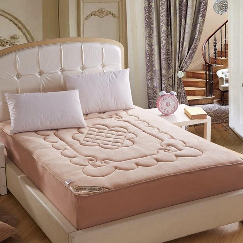 法莱绒360度床笠式床垫