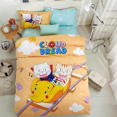 浩情新款全棉卡通大版三件套系列 1.0m(3.3英尺)床 天空漫游